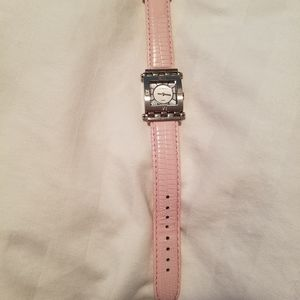 Via Spiga Pink Leather Watch